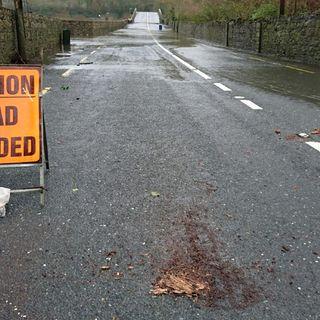 Knocklofty Bridge Flooded #clonmel