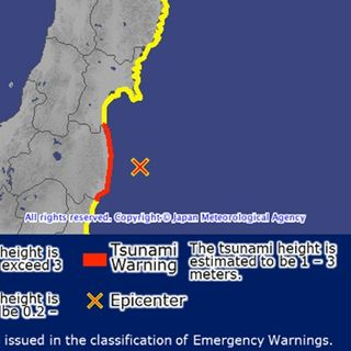 Tsunami Warning In Japan After Major Quake
