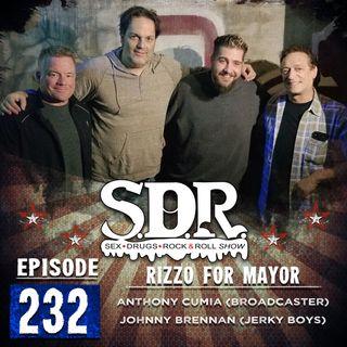 Anthony Cumia & Johnny Brennan (Broadcaster & Jerky Boys) - Rizzo For Mayor