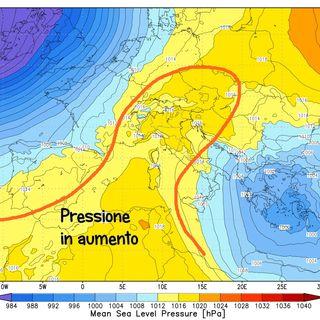 Previsioni meteo 11-13 dicembre. Qualche nuvola sul Vicentino ma tendenza al sereno