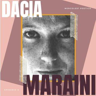 Mercoledì poetico - Ep. 8, Dacia Maraini