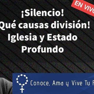 Episodio 441: 🤫¡Silencio! 🤐 Qué causas división 😡 Iglesia y Estado profundo 😱 en VIVO con Luis Román