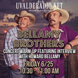 Howard Bellamy of The Bellamy Brothers / June 2021