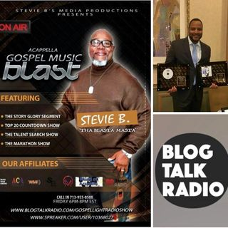 Stevie B's Acappella Gospel Music Blast - (Episode 86)