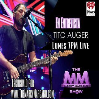 Tonight !! Tito Auger en Entrevista desde Puerto Rico