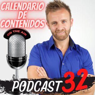 E.32 - Crear un calendario editorial de contenidos