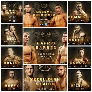 Preview Of The MTK Global Card Headlined By Jay Harris-Paddy Barnes For The IBF Flyweight European Title!Live On IFLTV And TopRankOnEspn+