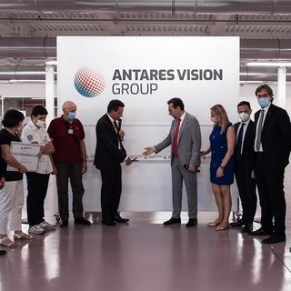RADIO ANTARES VISION - Antares Vision Group: the new headquarters building inaugurated