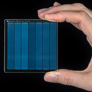 Tech | @2:38 Microsoft Project Silica, storing data in glass!