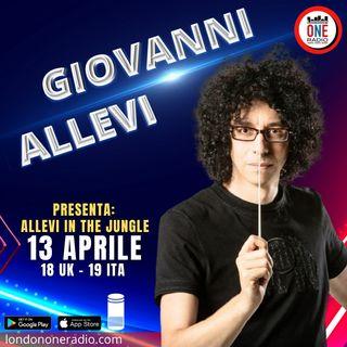 """Giovanni Allevi presenta """"Allevi in the Jungle"""""""