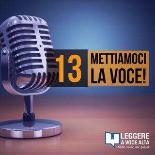13 - La voce per intrattenere, per guidare e per comprendere gli altri. con Elena Catalano