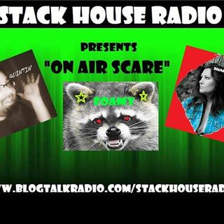 "'ON AIR SCARE' with STEVEN A. LACHANCE -The acclaimed author of ""The Uninvited"""