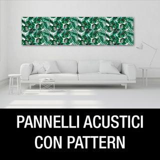 Pannelli fonoassorbenti con pattern