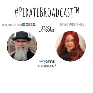 Catch Tracy Lamourie on the #PirateBroadcast™