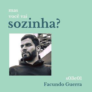 Mas Voce Vai Sozinha? S03E01: conexão São Paulo-Paramaribo com Facundo Guerra