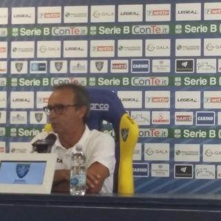 Conferenza stampa Pasquale Marino alla vigilia di Bari Frosinone