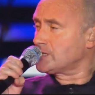 Phil Collins TRUE COLORS - LIVE -