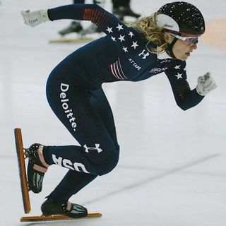 Olympic Talks: Kristen Santos, National Short Track Team