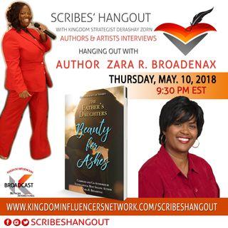 Scribes Hangout welcomes Author Zara R. Broadenax