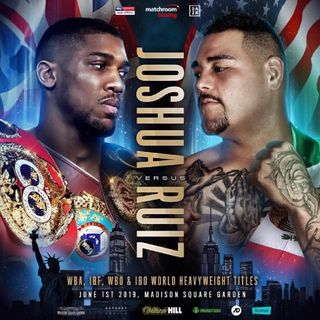 Anthony Joshua Fight Official Now Fighting Andy Ruiz Jr For The WBA WBO IBF IBO Heavyweight Title's Plus Insanely Stacked Undercard!!At MSG!