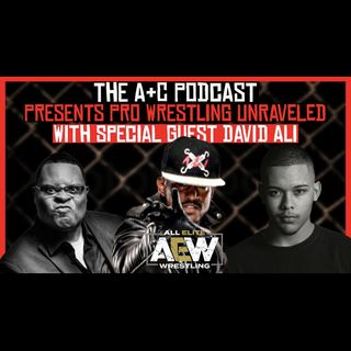 AEW'S David Ali! Talks About - How He Received An Opportunity After Only Being Wrestling For 5 Years!!