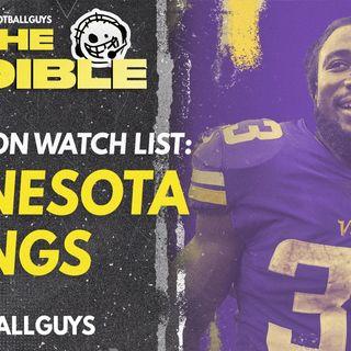 2021 Fantasy Football - Minnesota Vikings Preseason Watch List