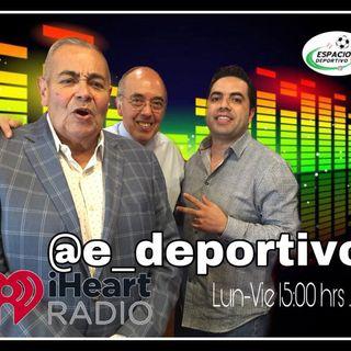 Comenzando la Semana Rudo, Pepe y Alex en Espacio Deportivo de la Tarde 01 de Julio 2019