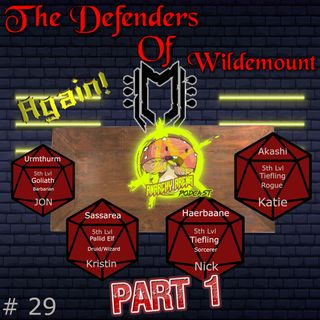 Episode 29: The Defenders of Wildemount....Again! Part 1