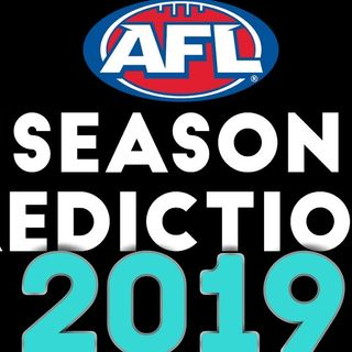 ThePear: AFL LADDER/SEASON PREDICTIONS 2019