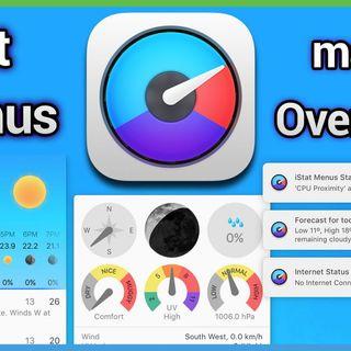 HOM 38: iStat Menus - Best System Monitoring App for macOS
