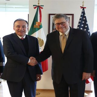 Concluye visita de fiscal de EU a México