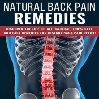 Natural Back Pain Remedies 2