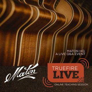 Maton Guitars with Patrick Evans, David Steedman, & Joe Robinson