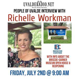 Richelle Workman / Briscoe-Garner Museum