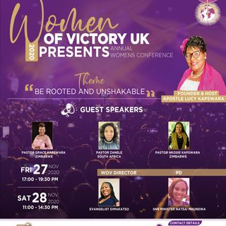 WOV Conference UK 2020 (Recorded from Zoom)