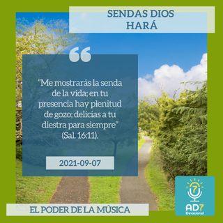 7 de septiembre - Sendas Dios hará - Devocional de Jóvenes - Etiquetas Para Reflexionar
