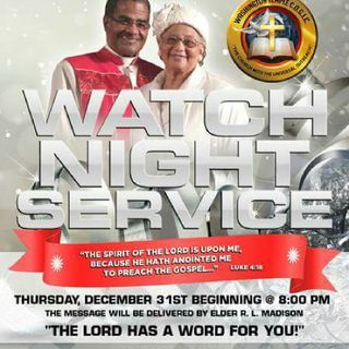 Live Watch Night Svc 12/31/2015 Part 2
