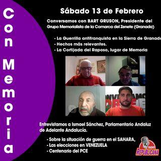 CON MEMORIA - Programa #20 - Conversamos con Ismael Sánchez y con el Grupo Memorialista de la Comarca del Zenete