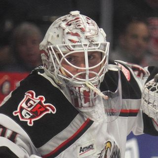 Calvin Pickard - Grand Rapids Griffins Goaltender
