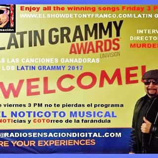 El NOTICOTO Musical/Las ganadoras del Latin Grammy 2017