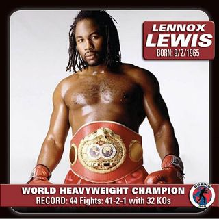 History of Heavyweight Boxing: Chapter 15 - Lennox Lewis