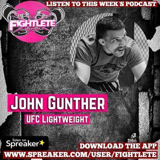 UFC Fight Night Denver John Gunther Interview