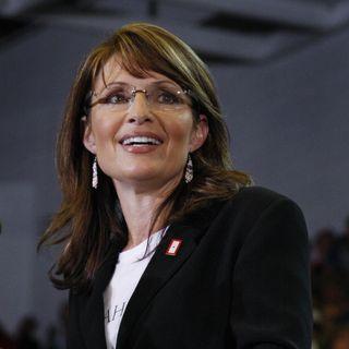 Sarah Palin speaking up for Trump
