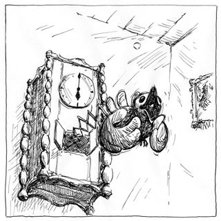 Zegar z uułką