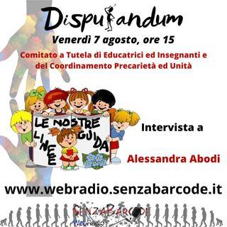Alessandra Abodi, Comitato a Tutela di Educatrici ed Insegnantie delCoordinamento Precarietà ed Unità
