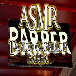 ASMR - Barba e capelli alla Locanda (Haircut - Scissors - Water - Tapping - Brushing - Hair dryer)