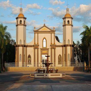 Ceremonia de Envio de losTres Reyes Magos de Juana Diaz.