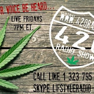 The 420 Radio Show with guest Kristen McRobie Founder of Edometriosis and Me (originally aired LIVE 12-06-19)