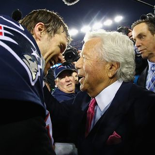 Patriots Owner Robert Kraft Has Strong Feelings On Tom Brady's Legacy