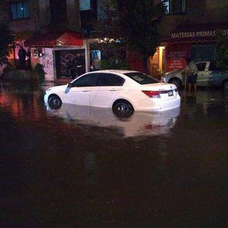 Inundaciones de hasta 60 centímetros en CDMX